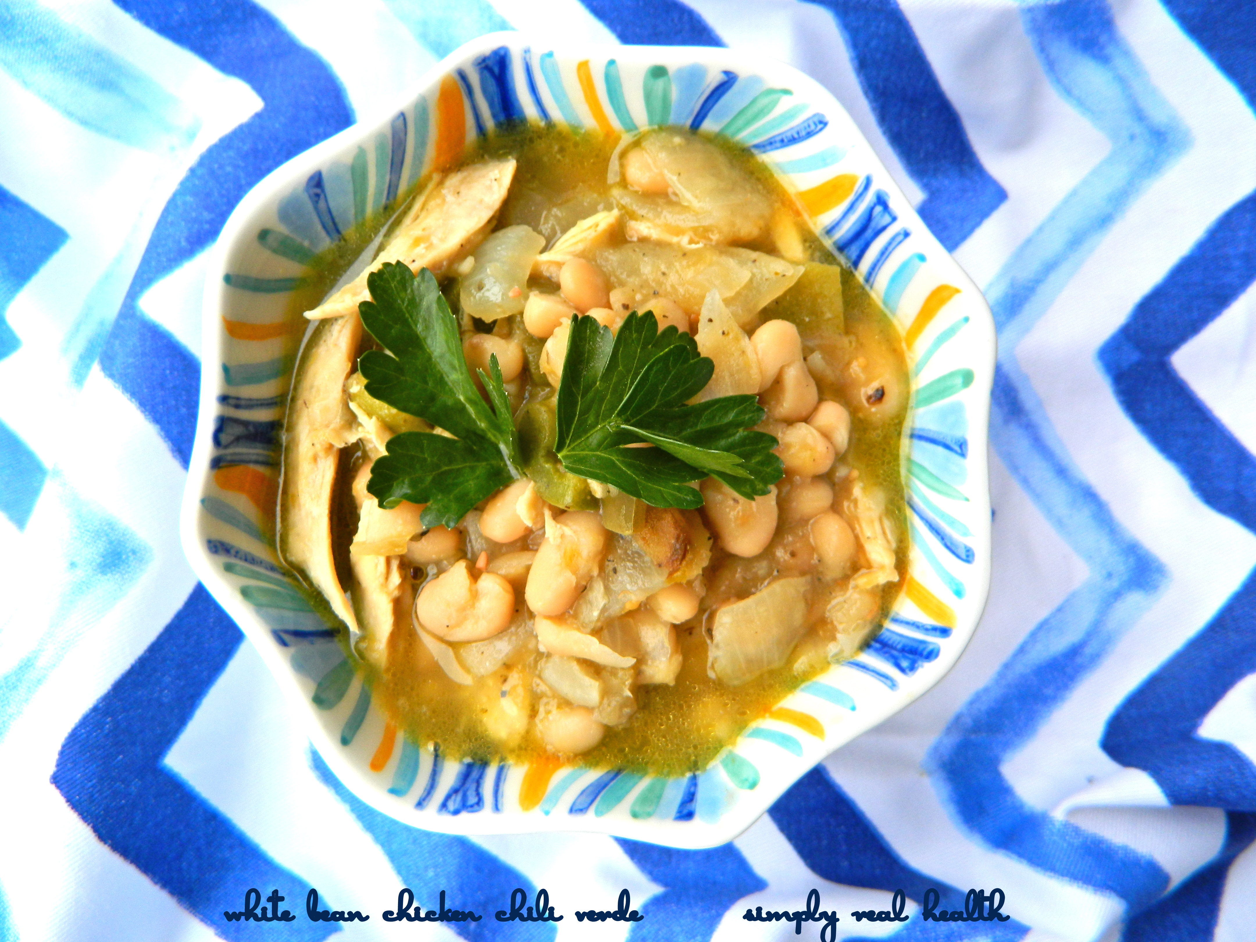 White Bean Chicken Chili Verde Simply Real Health