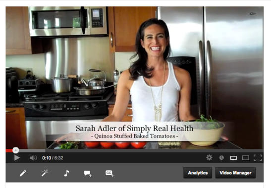 Quinoa Stuffed Tomatoes: VIDEO