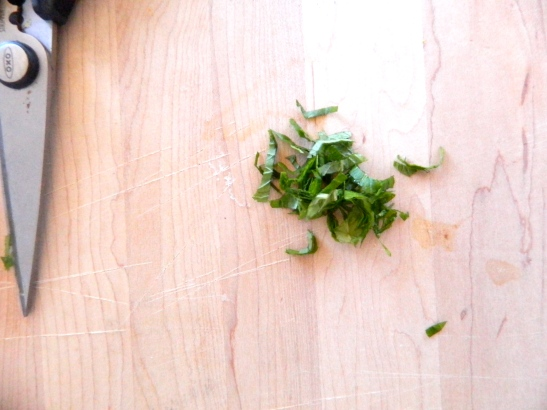 How to Chop Fresh Herbs // Simply Real Health //