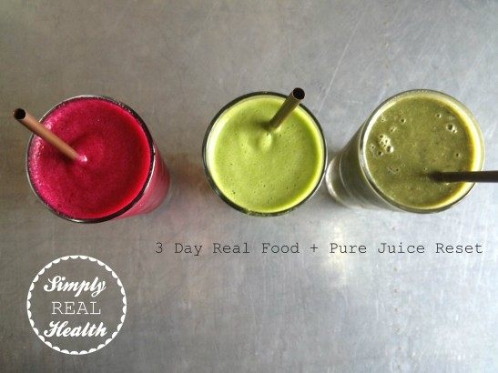 3 Day Real Food + Pure Juice Reset