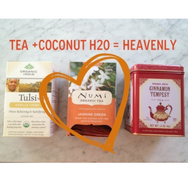 Sarah's Fall Favorites: The Short LIst: Awesome Teas + Coconut Water
