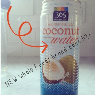 Sarah's Fall Fav's: The Short List: Whole Foods brand Coconut Water
