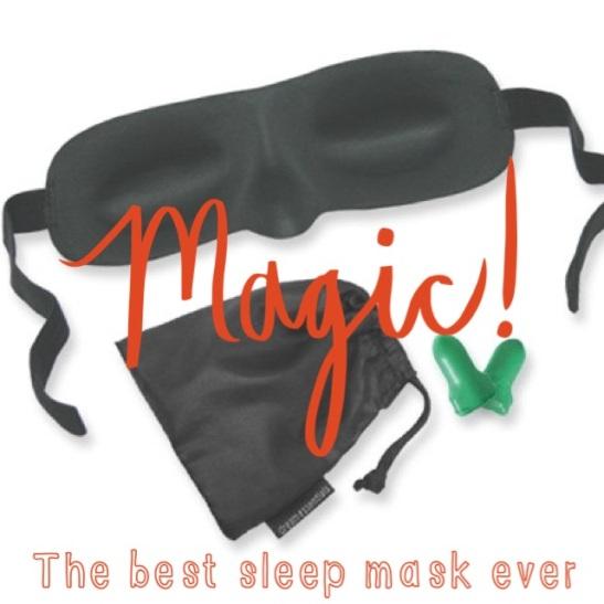 Sarah's Fall Fav's: The Short List: Sleeping Eye Mask + Earplugs