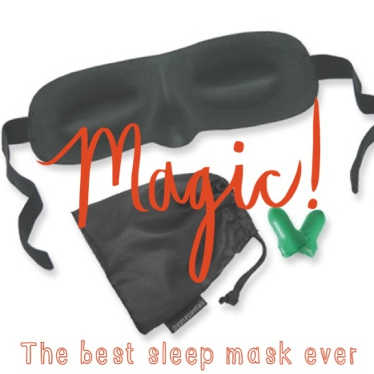 Sarah's Fall Fav's: The Short List: Sleeping Eye Mask + Earplugs