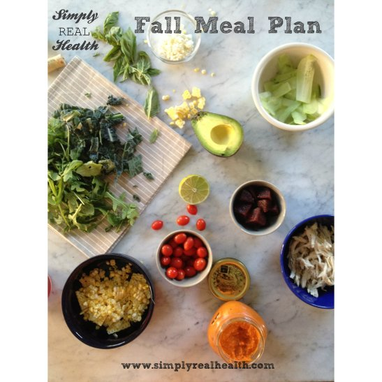 The Fall Meal Plan by Simply Real Health