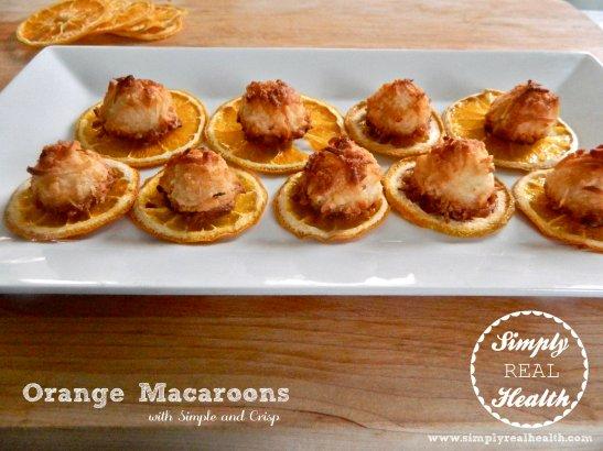 Coconut Orange Macaroons