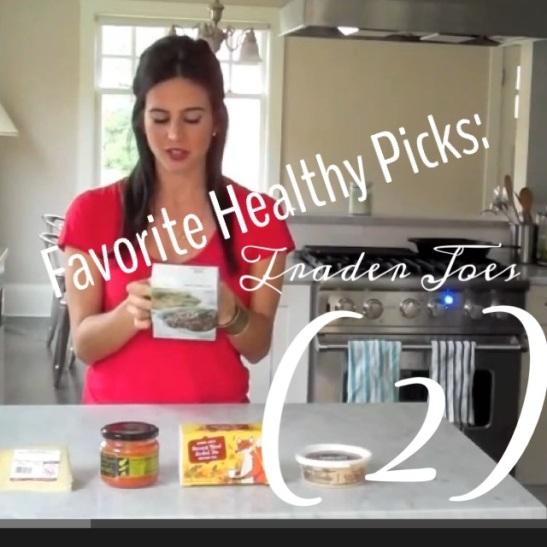 Sarah's Favorite Healthy PIcks @ Trader Joes (2) via Simply Real Health