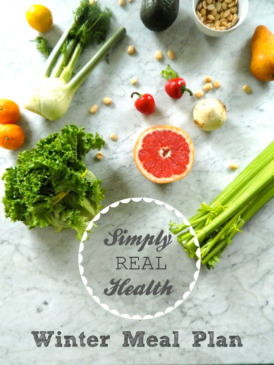 Winter Meal Plan via Simply Real Health