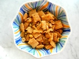 Healthy Chex Party Mix via Simply Real Health