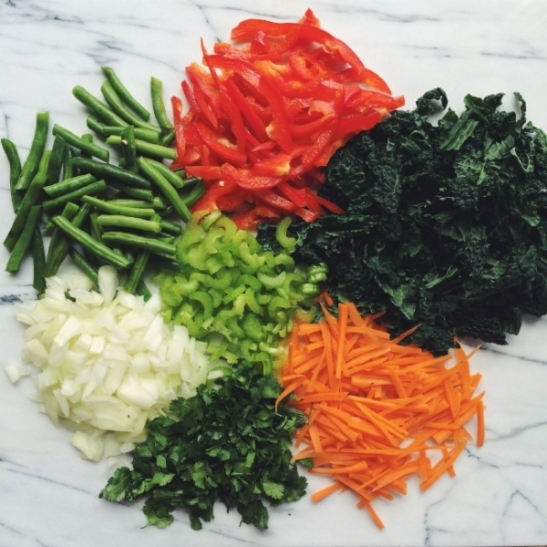 Stir Fry Ingredients/ Photo Credit Local Haven