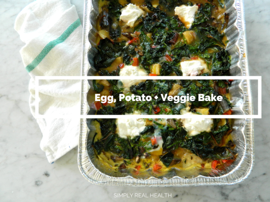 Egg potato veggie bake 2